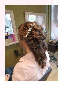Bruidskapsel bruiloft kapper Hair and Beauty Soest