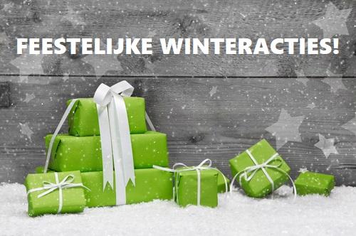 Winter actie Kerst Nieuwjaar kapsalon Soest